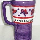 Red Hat Society Coffee Mug Cup Travel Ladies Purple Sippy Lid