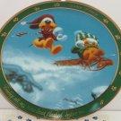 Garfield Oldie Collector Plate Dear Diary Nine Lives Jim Davis Danbury Mint