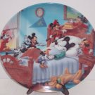 Disney Mickey Mouse Through Years Collector Plate Pluto Vintage Retired Japan