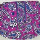 Vera Bradley Saddle Up Boysenberry Purse Shoulder Strap Purple Blue Bag Handbag