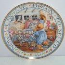 Teddy Bear Says His Prayers Collector Plate Franklin Mint Royal Doulton COA