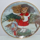 Teddy Bear Fur-ever Yours Collector Plate Franklin Mint COA Museum Pat Brooks