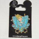 Disney Princess Cinderella Trading Pin Theme Parks Carded