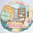 Home Sweet Home Cat Kitty 3-D Collector Plate Bradford Exchange Retired