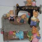 Vintage Sewing Machine Music Box Bears My Favorite Things
