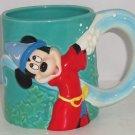 Walt Disney World Mickey Mouse Sorcerer Apprentice Coffee Mug Cup Great Gift