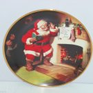 Coca Ccola Coke Pause that Refreshes Collector Plate Santa Clause Christmas