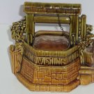 McCoy Wishing Well Vintage USA  Pottery Great Gift Collector 1940 1950 Planter