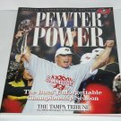 Tampa Bay Buccaneers Book Pewter Power Tampa Tribune Super Bowl 2003 Vintage