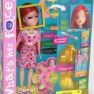 What's Her Face Doll Mattel 2000 Fashion Activity Doll Set Change Her Face Hair