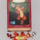 Disney Tigger Ornament Plays Soccer Hallmark Keepsake Christmas  1999 NIB Pooh