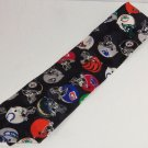 Steelers Dolphins Raiders Colts Patriots Mens Neck Tie Necktie Team NFL Helemts