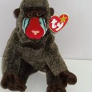 Cheeks Ty Beanie Baby Babies Monkey 1999 Retired