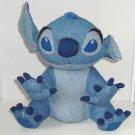 Disney Store Stitch Denim Plush Toy Exclusive Original Soft Cuddle Blue Jean