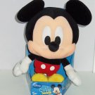 Disney Mickey Mouse Plush Toy Cutie Heads Stuffed Animal NIB