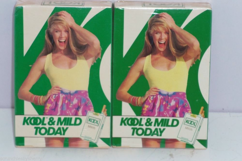 2 Deck of Kool & Mild Today Cigarette Playing Cards Poker Rummy Games Vintage