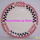 3 Coke Coca Cola Dinner Plate Checkered Plates Vintage Great Collectible Gift