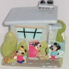 Disney Mickey Miinie Mouse Pluto Donald Daisy Goofy House Car Home Cookie Jar