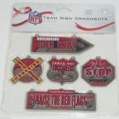 5 Tampa Bay Buccaneers Christmas Tree Team Sign Ornaments  Forever Collectibles