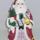 Christmas Santa Claus Cookie Jar Dog Bear Toys Cookies Ceramic Holiday