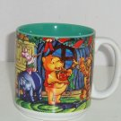 Disney Store Coffee Mug Winnie Pooh Tigger Eeyore Season Song MIB Retired 1997