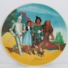 Wizard of Oz Dorothy Lion Tin Man Grand Finale Movie Collector Plate Knowles