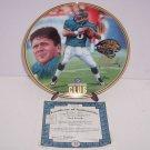 Jacksonville Jaguars Mark Brunell Collector Plate Quaterback Club Bradford  NFL