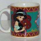 Disney Princess Jasmine Coffee Mug Aladdin Genie Cup Tea Soup Retired