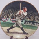 Babe Ruth Collector Plate The Called Shot Baseball Vintage MLB Baseball