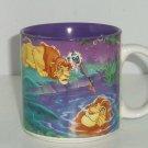 Disney Lion King Simba Coffee Mug Retired Vintage Mufasa Rafiki Reflection Tea