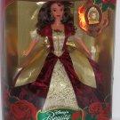 Disney Holiday Princess Belle Doll Holiday 1997 Mattel Enchanted Christmas