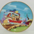 Flintstones Collector Plate Fred Barney Pebbles Wilma Betty Vintage Franklin