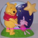 Disney Winnie Pooh Piglet Bank Moon Stars Light Up Coin Money