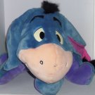 "Disney Eeyore Plush Toy Blue Purple Stuffed Mattel 18"" Tall"