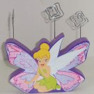 Disney Tinker Bell Photo Holder Purple Pink Glitter