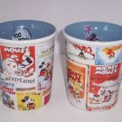 Disney Store Minnie Mickey Nostalgia Coffee Mug Posters NEW Retired Great