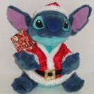 Disney Store Stitch Plush Santa Helpers Suit Christmas Toy Exclusive Original