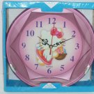 Hello Kitty Clock Quartz Pink New Box Girls Room Wall Decor