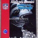 2 Carolina Panthers Bandages Football Power Strip NFL Football Medical