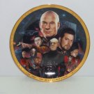 Star Trek Collector Plate Best Both Worlds Next Generation Hamilton Vintage