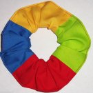Ebay Colors Red Blue Yellow Green Colors Cotton Fabric Hair Ties Scrunchie Scrunchies