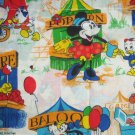 2 Disney Mickey Minnie Mouse Window Valance Donald Duck Circus Games Carnival