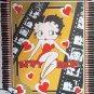 Betty Boop Fleece Blanket Hand Tied Throw Hearts Film