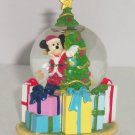 Disney Store Mickey Mouse Snowglobe Christmas Tree Gifts Waterball Mini Retired