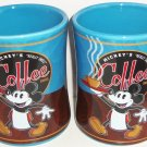Disney Mickey Mouse Mickey's Really Swell Coffee Mug Cup Theme Parks Blue