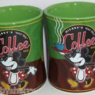 Disney Minnie Mouse Mickey's Really Swell Coffee Mug Cup Theme Parks Green