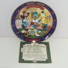 Disney Collector Plate Mickey Minnie Through Years Birthday Party Bradford Gift