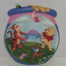 Disney Winnie Pooh Collector Plate Hey Hey Poohray Honeypot Adventures Retired