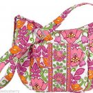 Vera Bradley Lilli Bell Clara Handbag Purse Green Pink Orange