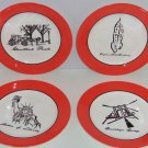 4 Sex  City Collector Plate HBO New York Icons Empire Brooklyn Liberty TV Show